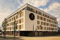 Moderner Auftritt: Das IBB Hotel Ingelheim liegt unweit des Bahnhofes und der Fußgängerzone. / Bildquelle: IBB Hotel Collection