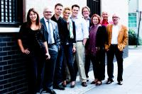 Das Team der ibelsa GmbH v.l.n.r.: Helena Steger, Gerhard Berchtold, Christoph Stausberg, Annika Franz, Philipp Berchtold, Patrick Schulte, Angela Düster, Markus Linsenmeier, Heiner Linsenmeier