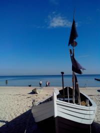 Die Elixiere des Lebens: Strand, Sonne, Meer, gute Seeluft, hier auf Usedom; Bildquelle Anna Brixa