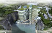 Intercontinental Songjiang Quarry Hotel - gebaut in einen Steinbruch / Bildquelle: InterContinental Hotels Group
