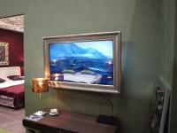 Der Frauenfernseher: Der Reflex Mirror | TV am Stand von Bellmann Interior/Selva