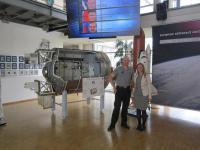 Im Zentrum für Luft- und Raumfahrt in Köln traf Lisa Schachner den Astronauten Alexander Gerst / Bildquelle: ISM International School of Management GmbH