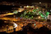 Izmir in der Türkei bei Nacht, Konak Square