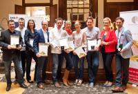Die Gewinnerrestaurants sowie die besten Servicekräfte der Kochsternstunden 2015 / Copyright: NARCISS & TAURUS.
