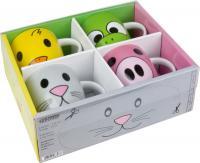 KÖNITZ und das Zoo Set läßt Kinder Herzen höher schlagen; Bezugsquelle der Produkte: www.mug-shop.com