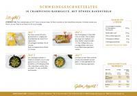 Küchenhandbücher mit Zubreitungshinweisen sorgen für eine konstant hohe Service Qualität