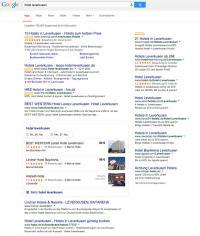 """Ein Screenshot für den Suchbegriff """"Hotel Leverkusen"""" / Bildquelle: LibOTEL"""