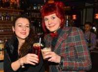LieblingsBar-Barkeeper-Treff mit Marina Forciniti (Bristol Bar, Frankfurt, links), Jenny Franke (Chug Club, Hamburg), Fotos: Wilfred Feege