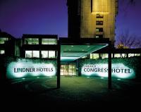 Eingang des Lindner Congress Hotel, Düsseldorf; Bilquelle: Lindner Unternehmensgruppe