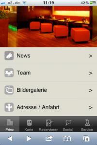 Screenshot von Apps4Restaurants.de / Bildquelle: localHero GmbH