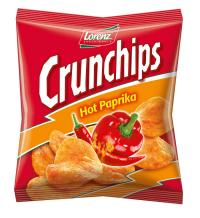 Crunchips Hot Paprika 25g / Bildquelle: The Lorenz Bahlsen Snack-World GmbH & Co KG Germany