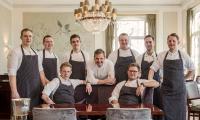 Die Köche vom Jacobs Restaurant - in der Mitte Sternekoch Thomas Martin