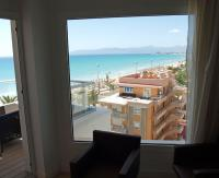 ... der Ausblick können sich im Hotel Garonda Mallorca sehen lassen