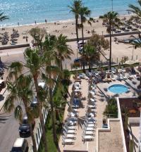 Aussicht auf Pool und Me(h)er im Sentido Playa del Moro