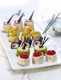 Intergastra 2016 Sweet Sushi / Bildquelle: Martin Braun Backmittel und Essenzen KG