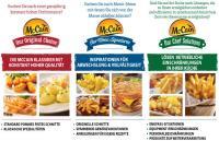 Neuer Markenauftritt / Bildquelle: McCain GmbH