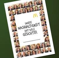 Titelbild McDonald's Deutschland Nachhaltigkeitsbericht 2015 / Bildquelle: McDonald's