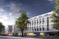 Visualisierung me and all hotel Düsseldorf Oberkasse /Hansaallee; Bildquelle LINDNER.de