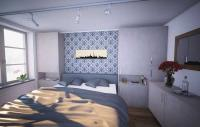 Hotelschrank mit Nachtkästchen in Beton / Bildquelle: Beide meine möbelmanufaktur