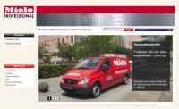 Schnell beim Kunden: Reinigungschemikalien für gewerbliche Spüler können jetzt im neuen Online-Shop von Miele Professional bestellt werden. / Bildquelle: Miele Professional