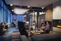 Rendering des Loungebereichs / © Marriott International