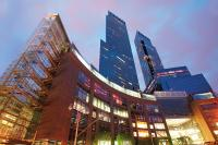 Time Warner Center mit dem Mandarin Oriental in New York