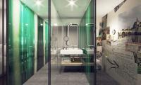 Rendering: niu Hotels Badezimmer / Bildquelle: Novum Hotel Group