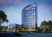 """Visualisierung des Hotelneubaus """"Nordport Plaza-Hotel"""" / Bildquelle: RIMC Hotels & Resorts"""