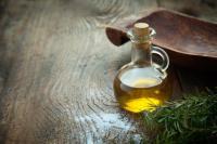 Olivenöl nur mit Brot - einfach lecker