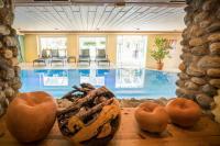 Blick auf den Indoorpool / Quelle: Ortners Eschenhof