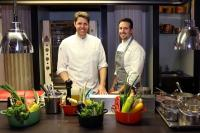 Philipp Vogel und Anton Pozeg / Fotocredit: Palais Hansen Kempinski