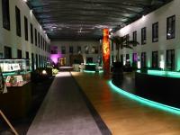 Die Halle des Premier Hotel Moa Berlin für Tagungen und andere Feierlichkeiten