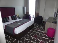 Das Hotel bietet schicke Zimmer zum günstigen Preis
