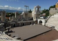 Das römische Amphitheater in Plovtiv - diese Stadt läßt einen nicht mehr los