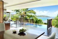 Raffles Praslin Ocean View Villa Dining Area / Bildquelle: Raffles Hotels & Resorts