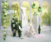 Romantische Deko: Die Hochzeitstorte und....; Bildquelle Heinrich Woerner GmbH