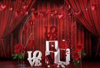 Rote Rosen - rote Deko - rote Accessoires; Bildrechte Dekowoerner