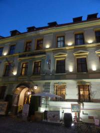 Bild vom herrlichen Hotel Sighisoara in Schäßburg