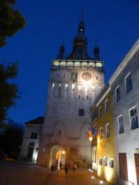 Der Stundturm in Schäßburg/Sighisoara