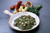 Grünkohl mit Kartoffeln und Wurst / Bildquelle: Sander Gourmet GmbH