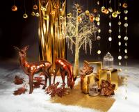 ...Gold zum 'Schau Fenster' kommender Events stylen: Begeistern Sie Ihre Gäste schon beim Empfang!