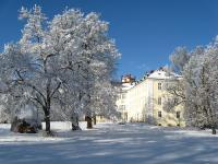 Im Winter... / Foto: Schloss Lübbenau