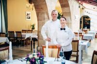 """""""Schlossherren"""" Tobias und Stefanie Dittrich / Bildquelle: Hotel Schloss Hohenstein"""
