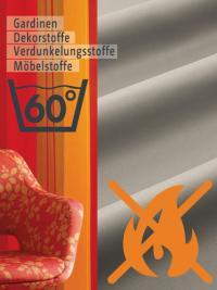 Schwer entflammbare Stoffe B1 für Gardinen, Vorhänge, Dekorstoffe, Möbelstoffe - jetzt mit 60° C waschbarl! Bildquelle Kazuzu