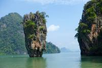 Der James Bond Felsen in Süd-Thailand / Bildquelle: Spaness