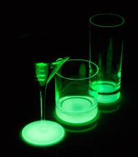 Moon Besonderer Aha-Effekt mit Licht aus - Glas an! / Bildquelle: Stölzle Lausitz GmbH