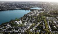 Modellansicht des fertigen Hotels / Bildquelle: The Fontenay Hamburg