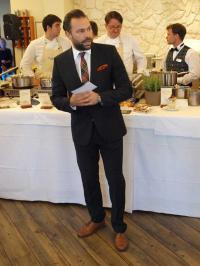 Thomas Peruzzo während der Kühlungsborner Gourmettage 2014 / Bildquelle: Beide Sascha Brenning - Hotelier.de