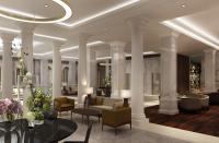 Die Lobby im Titanic Deluxe Berlin. Bildquelle Titanic Hotels