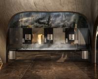 """Gemeinsam mit Tengbom Architects entwickelte Tork den """"Waschraum der belebenden Kontraste"""" — als Idealtyp des modernen Premium-Waschraums. / Bildquelle: SCA Hygiene Products AFH Sales GmbH / Tork"""